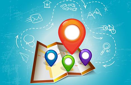 Geocodierung mit OpenStreetMap zur Adressverortung: 123map